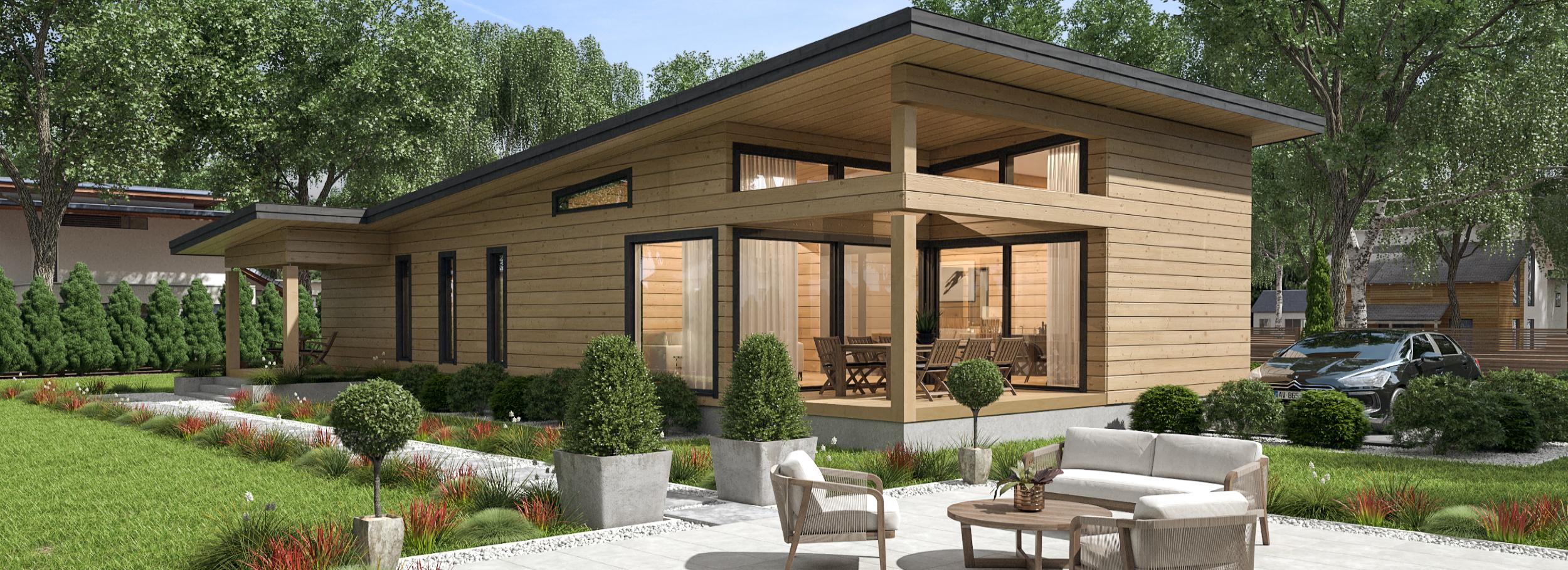 Chalet Et Maison Bois Style Contemporain Franche Comte Territoire De Belfort Doubs Jura Haute Saone Slider Sensation Bois